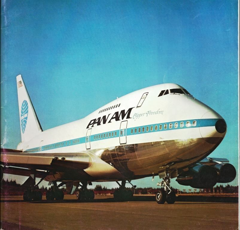 """Pan American World Airways Boeing 747SP-21 N531PA """"Clipper Freedom"""", circa late 1970s."""