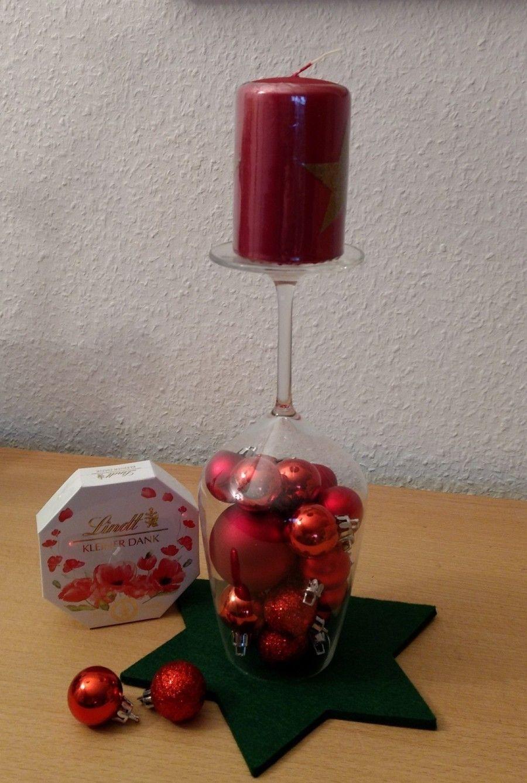 Weingläser Dekorieren weinglas adventlich dekorieren weingläser dekorieren und mutti