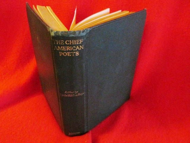 Poetry The Chief American Poets Curtis Hidden Etsy American Poets School Library Books Poetry Books