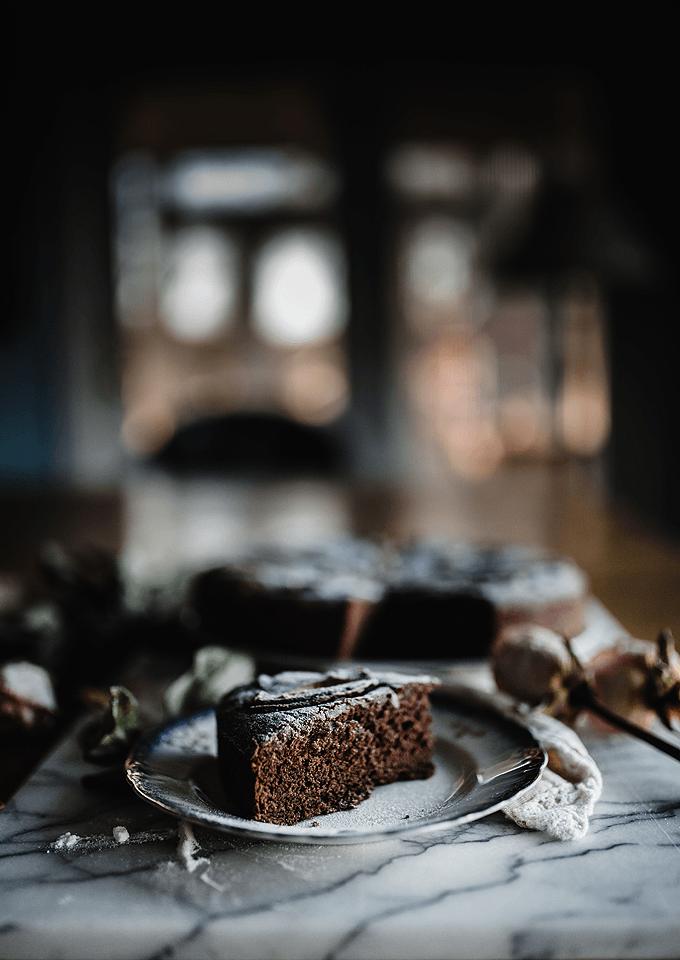 chocolate banana date cake   The Sticky Spatula