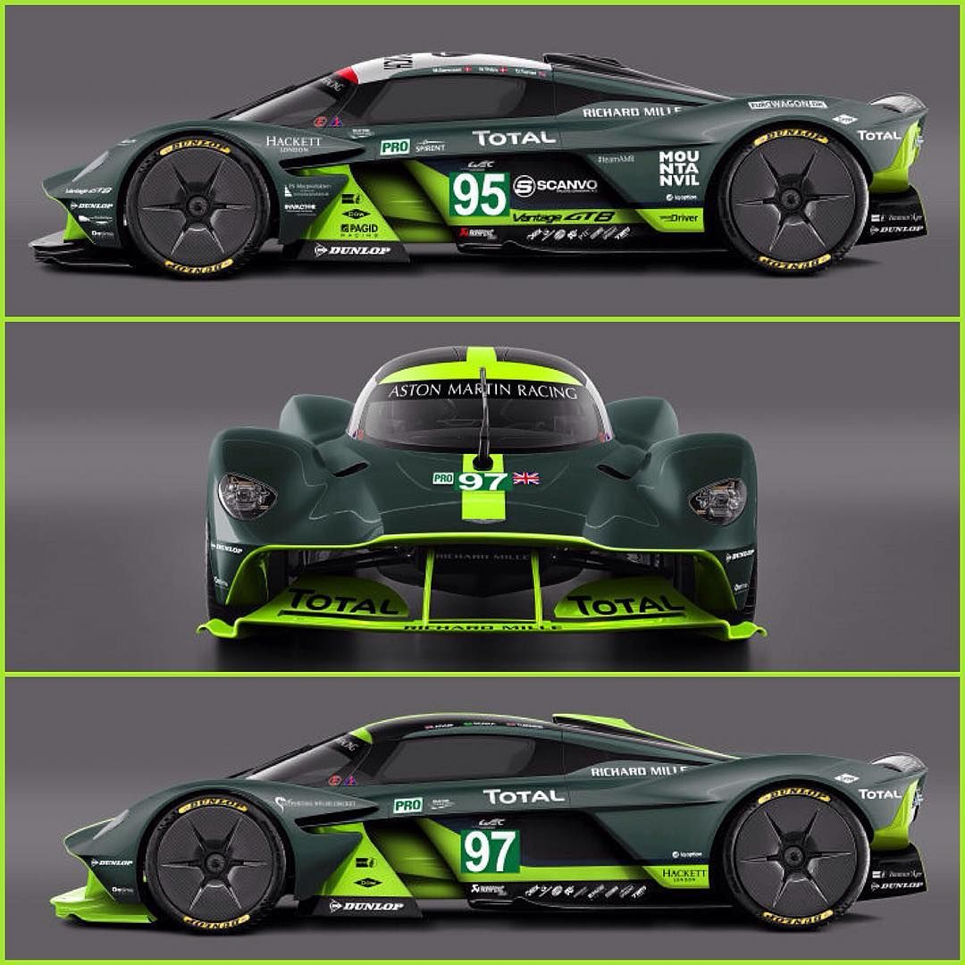 Aston Martin Race Car: Aston Martin Valkyrie Version Le Mans ! Magnifique ! ⚡️