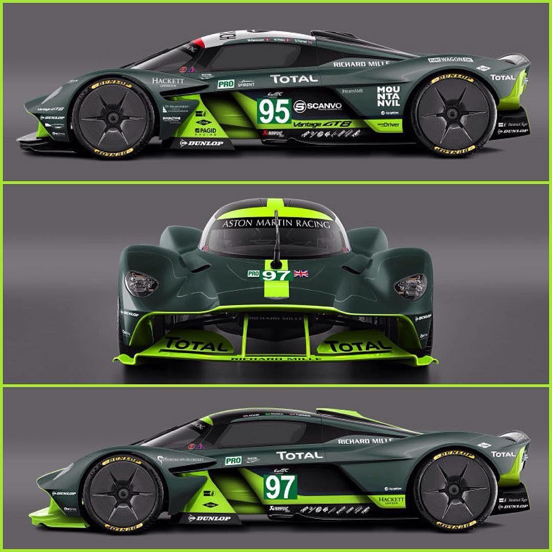 Aston Martin Valkyrie Sport: Aston Martin Valkyrie Version Le Mans ! Magnifique ! ⚡️