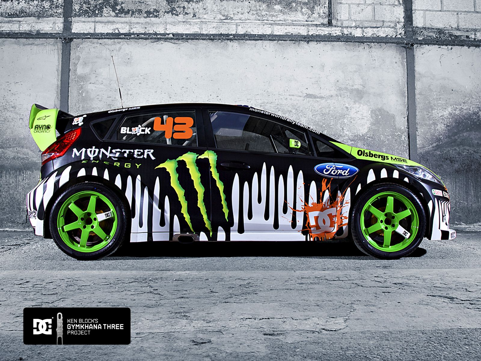 Ken Block\'s Ford Fiesta. The only thing more sick than this car ...