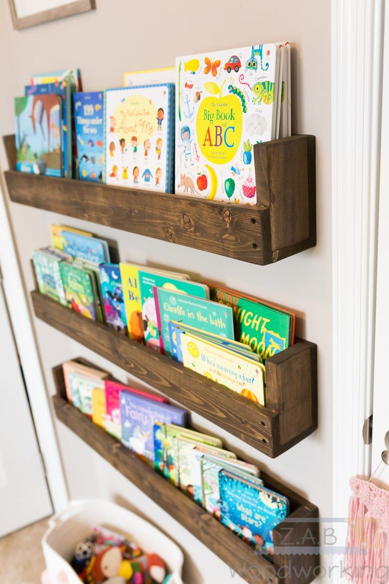 Photo of Floating Nursery/Kids Bookshelf