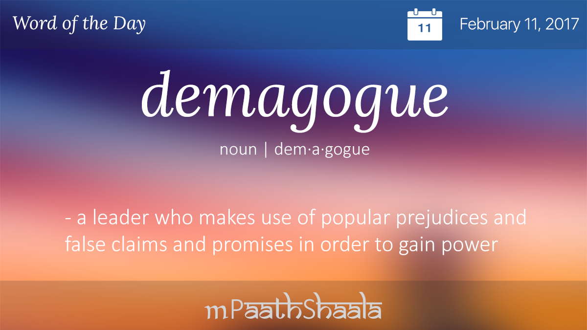 Demagoguery: the meaning of the word, the origin and interpretation 80