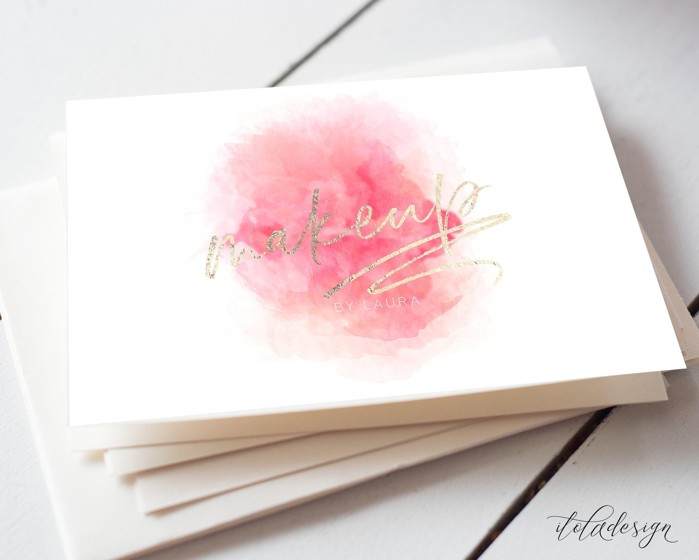 Makeup Artist Business Card Files