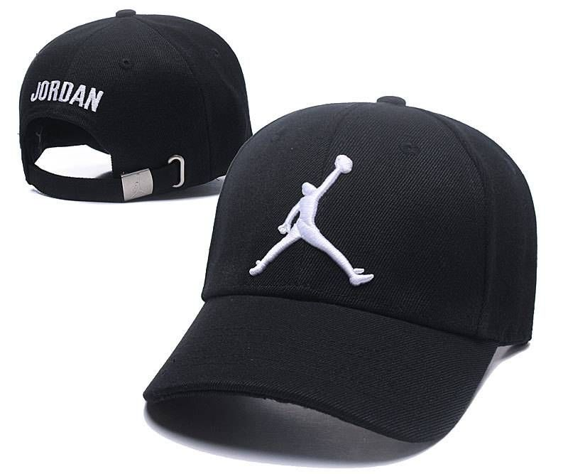 777572a0 Air Jordan Baseball Caps Black/White Strapback Caps 028 | Michael ...