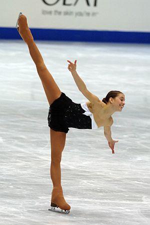 Alissa Czisny - Breakfast at Tiffany's  -Black Figure Skating / Ice Skating dress inspiration for Sk8 Gr8 Designs.