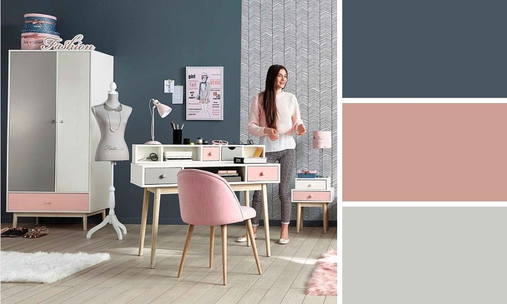 Quelles couleurs accorder pour une chambre d ado tendance for Quelle couleur pour une chambre adulte romantique