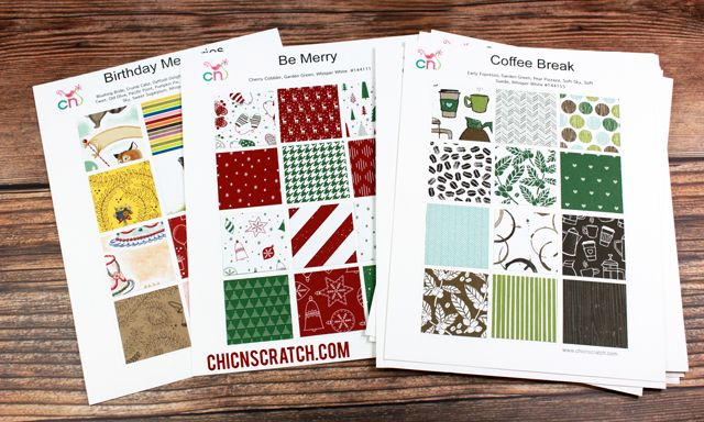 Stampin Up Designer Series Paper Charts Stampin Up Print Templates Happy Birthday Gorgeous