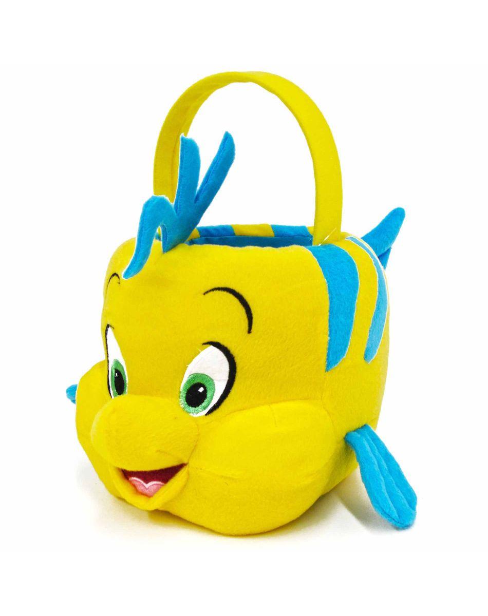 Little Mermaid Flounder Plush Bucket – Spirit Halloween ...