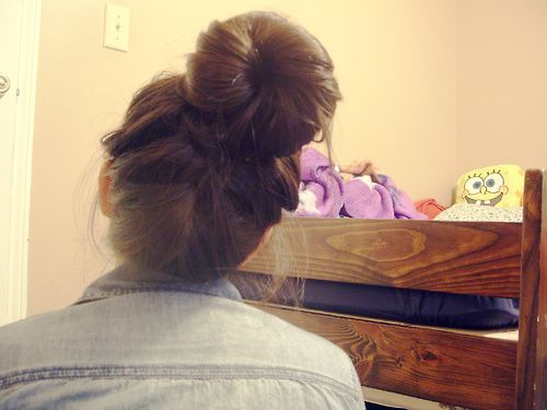 I LOVE big buns!