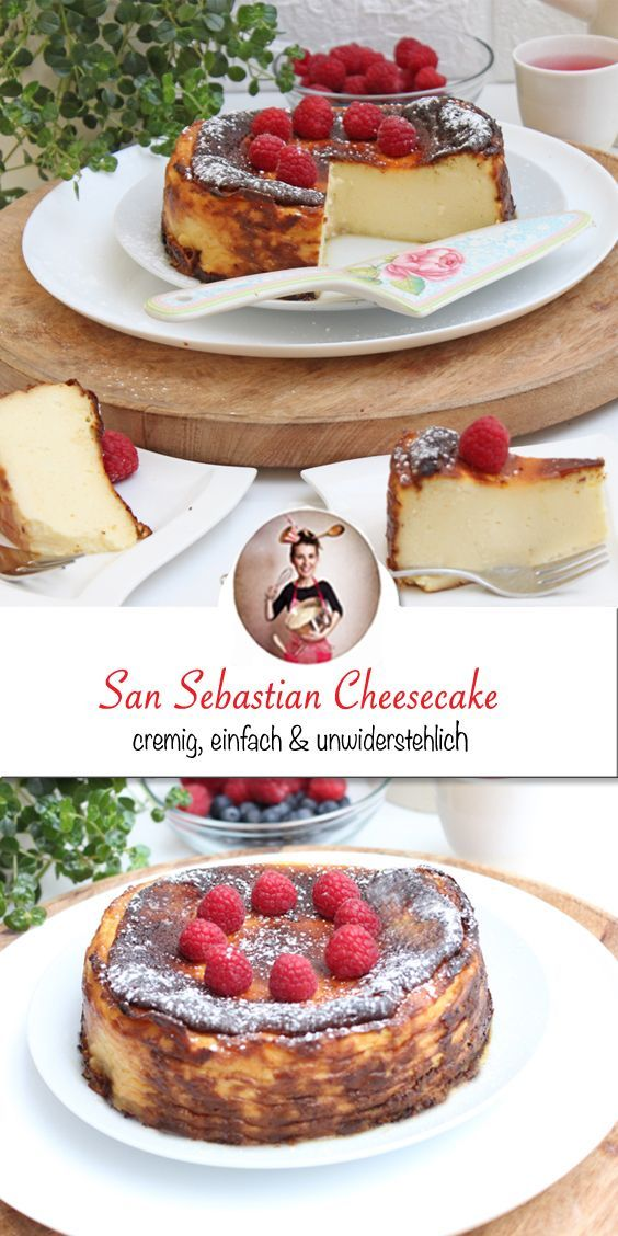 San Sebastian Cheesecake - Unwiderstehlich cremig und lecker