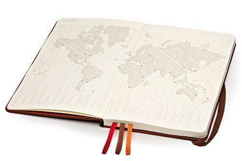 Moleskine Voyageur Traveller's Notebook, Hard Cover, Nutmeg Brown (4 x 7)