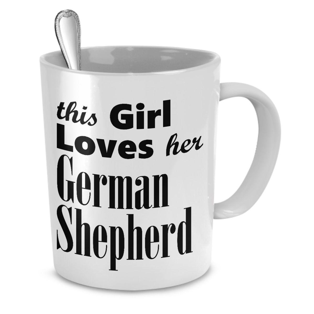 German shepherd dog mug german shepherd dogs shepherd