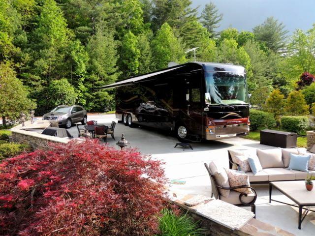 Mountain Falls Luxury Motorcoach Resort In Mountain Falls Nc Luxury Rv Resorts Rv Parks And Campgrounds Luxury Rv