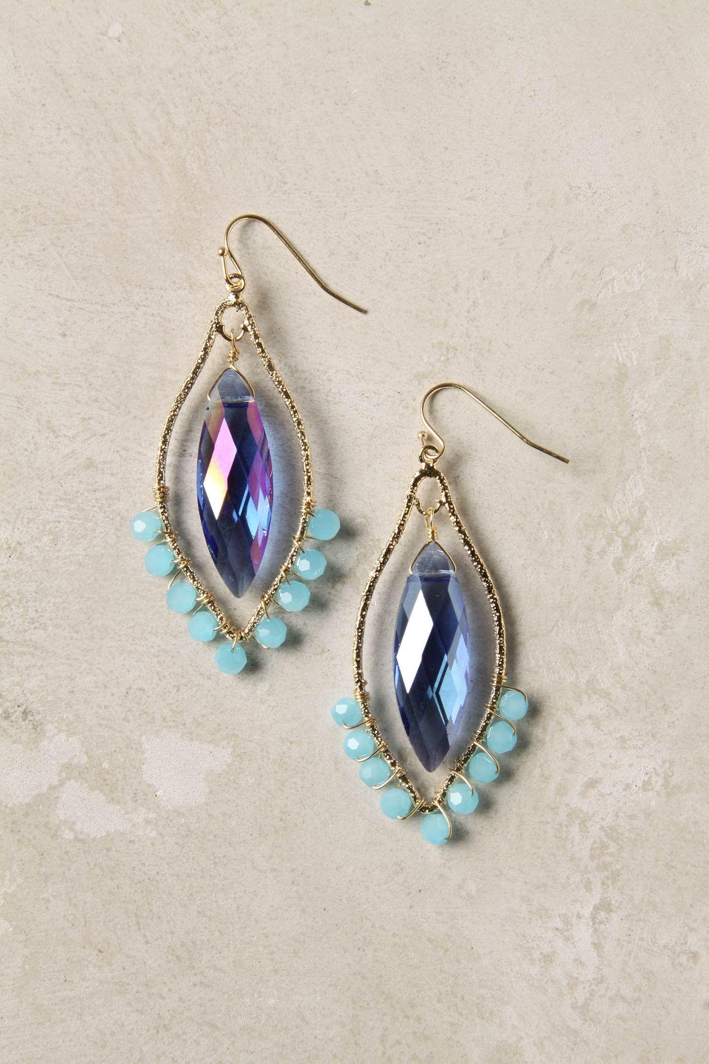 Clara chandelier earrings anthropologie jewel box earrings clara chandelier earrings anthropologie arubaitofo Images