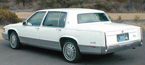 1991 Cadillac Sedan Deville Had This In Silver Gray Color