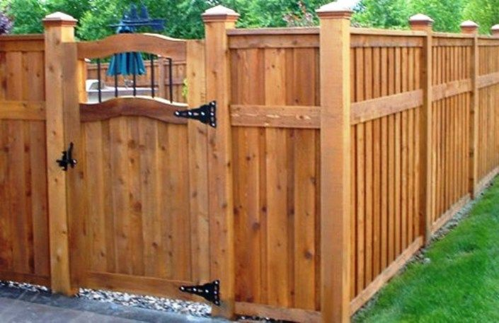 Wood Fence Gate Designs For Your Garden Plans Wood Fence Gate Kit