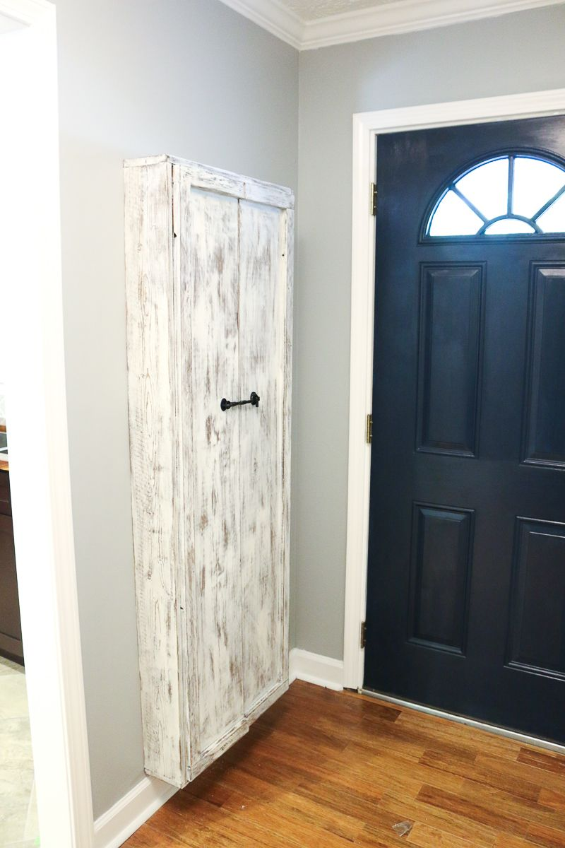 Charmant Where The Heck Do Brooms Go?! A DIY Broom Closet Build! How To Guide On  Bower Power Blog
