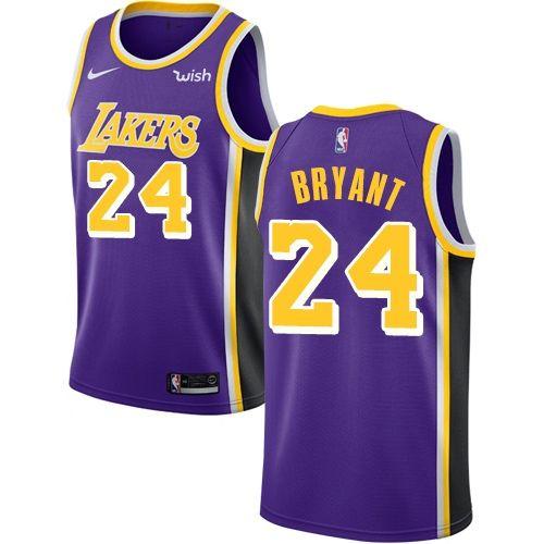 Nike Lakers  24 Kobe Bryant Purple Women s NBA Swingman Statement Edition  Jersey 4a7a4375a