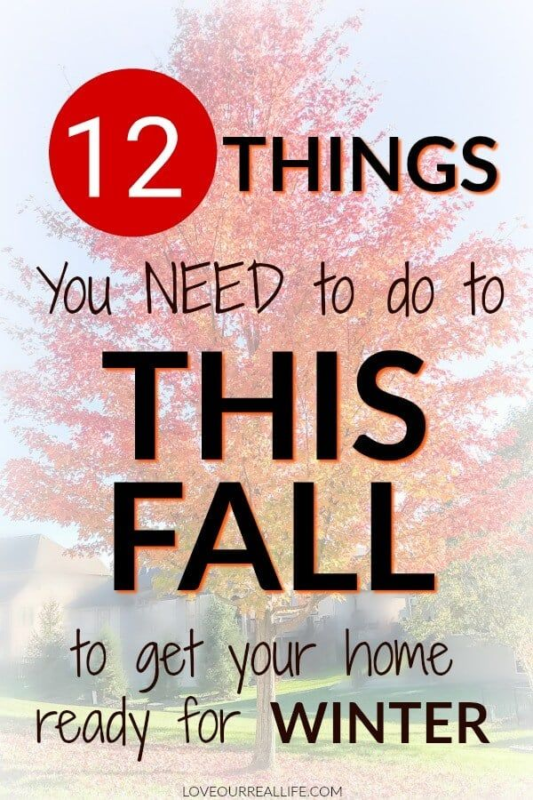 Get ready for the winter weather by preparing your home this fall! Grab this printable fall home maintenance checklist, be a prepared home owner, and ensure you have a cozy winter! #homeowner #fallchecklist #homemaintenance #winterpreparedness