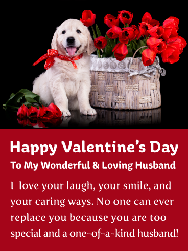 No One Can Replace You Happy Valentine S Day Card For Husband Birthday Greeting Cards By Davia Happy Husband Happy Valentine Birthday Wishes For Mother
