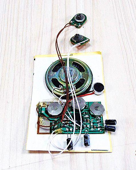 módulo registrable del sonido
