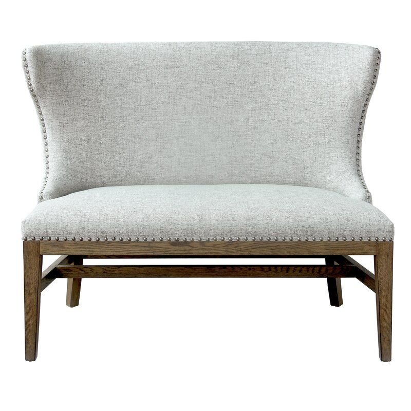 Gracie Oaks Robledo Upholstered Bench & Reviews | Wayfair