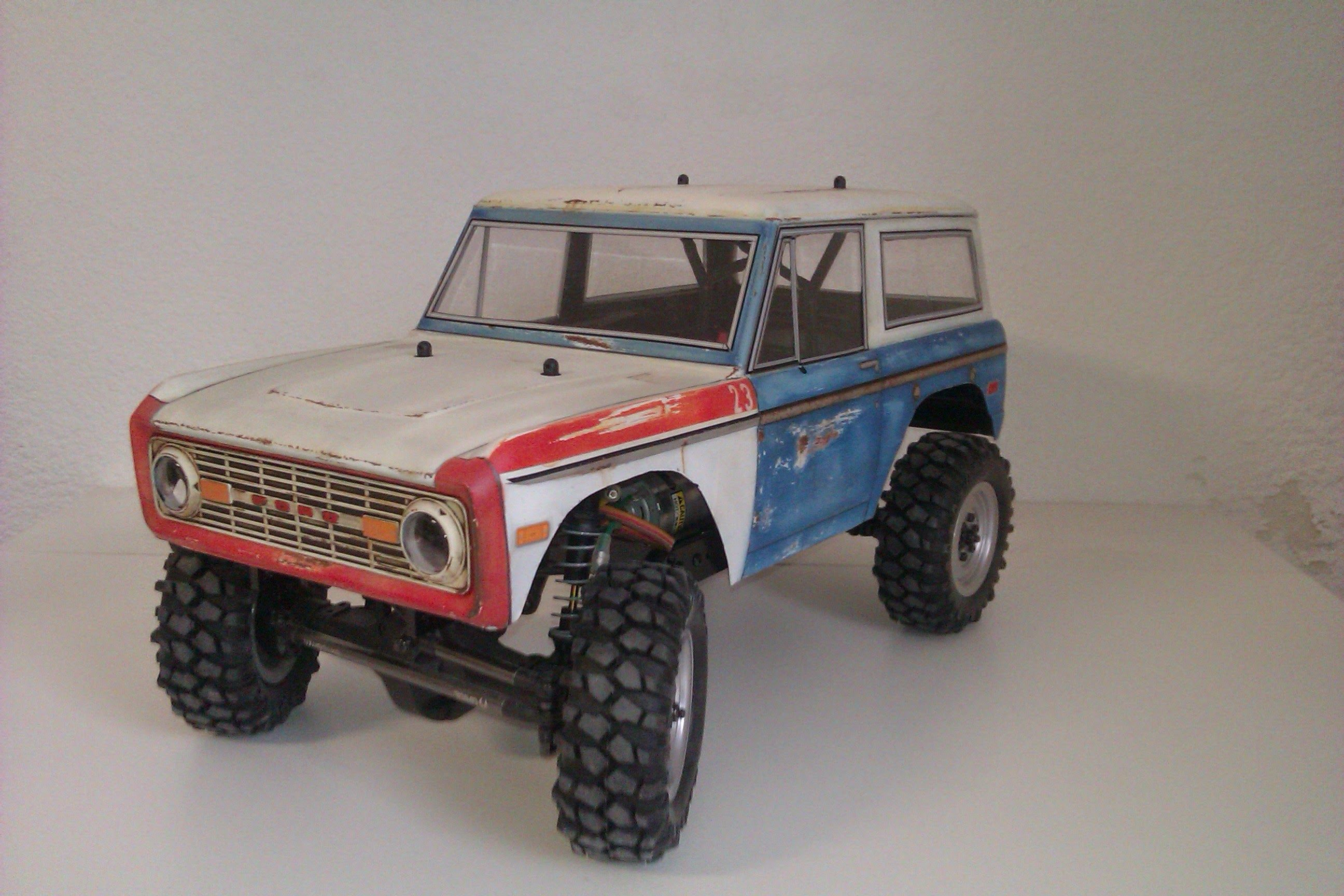 Bronco Tamiya Body Ford Bronco Rc Cars Monster Trucks