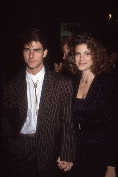 Stars Of The 80s Fashion Flashback Tom Cruise Mimi Rogers Celebrity Couples