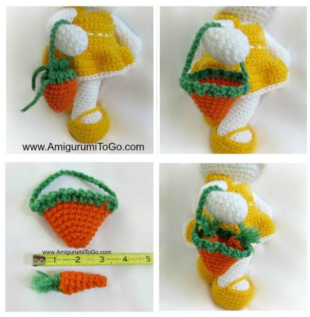 Crochet Along Little Bigfoot Bunny - YouTube | 1020x1000