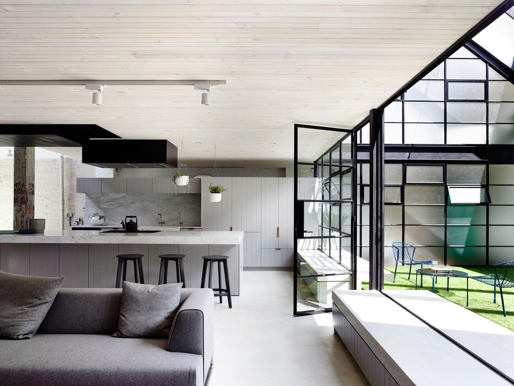 fitzroy loft in melbourne - bad und sanitär - wohnen, Wohnzimmer dekoo
