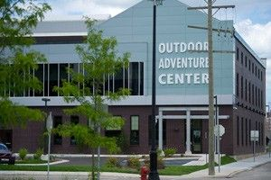 DNR outdoor discovery center. Opening this summer., on Detroit's riverfront.
