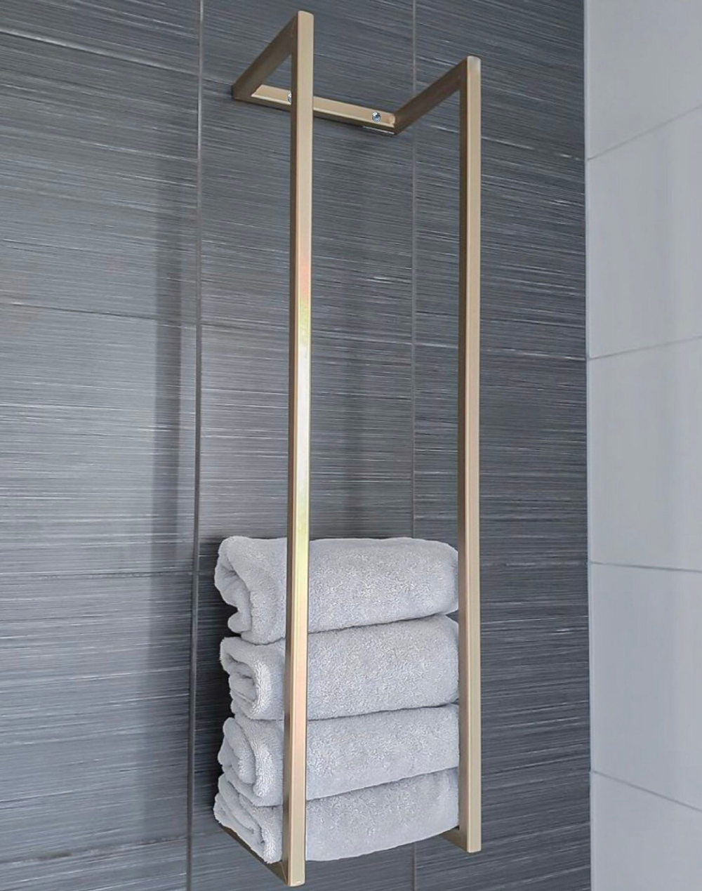 Steel Towel Rack Metal Towel Holder Towel Storage Towel Rack Bathroom Towel Holder インテリア 家具 洗面所