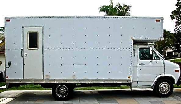2299c048a8 95 Chevy G30 DIY Box Truck Motorhome RV For Sale 004
