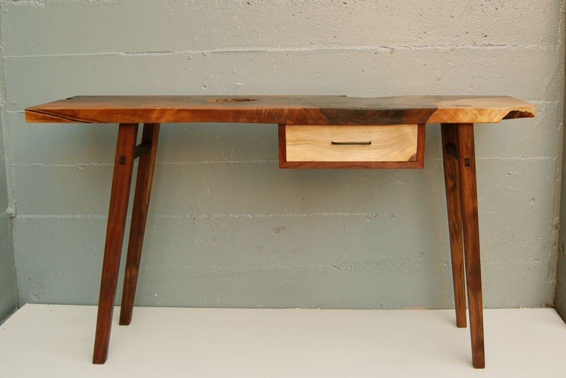 FOR SALE AT WOOD DESIGN Entry Table A small console table