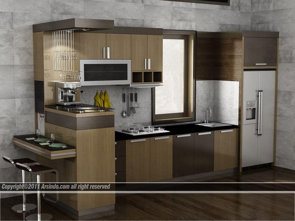 Dapur Kecil Modern Sederjana Desain Untuk Ruang Keci Flickr