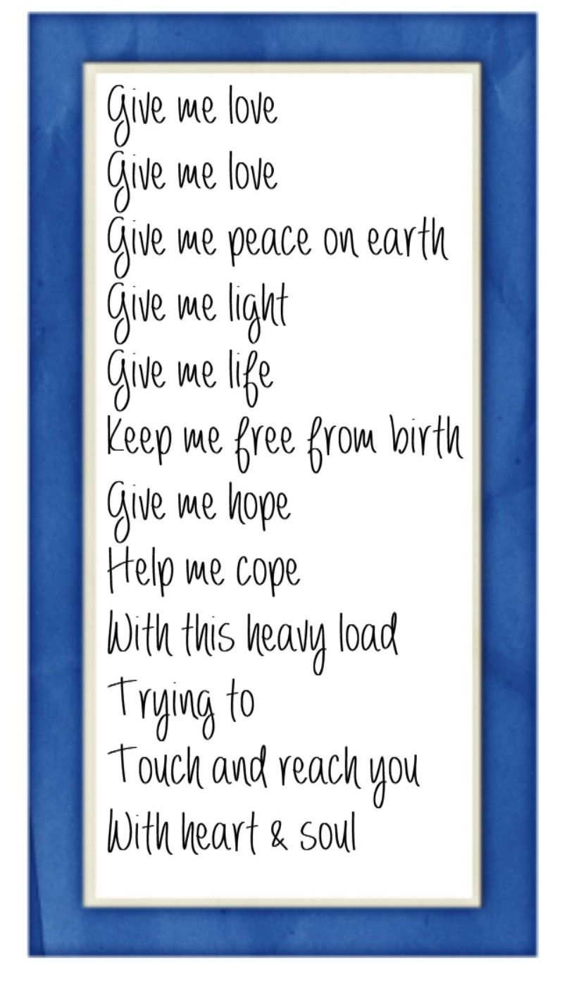 George harrison lyrics what is life