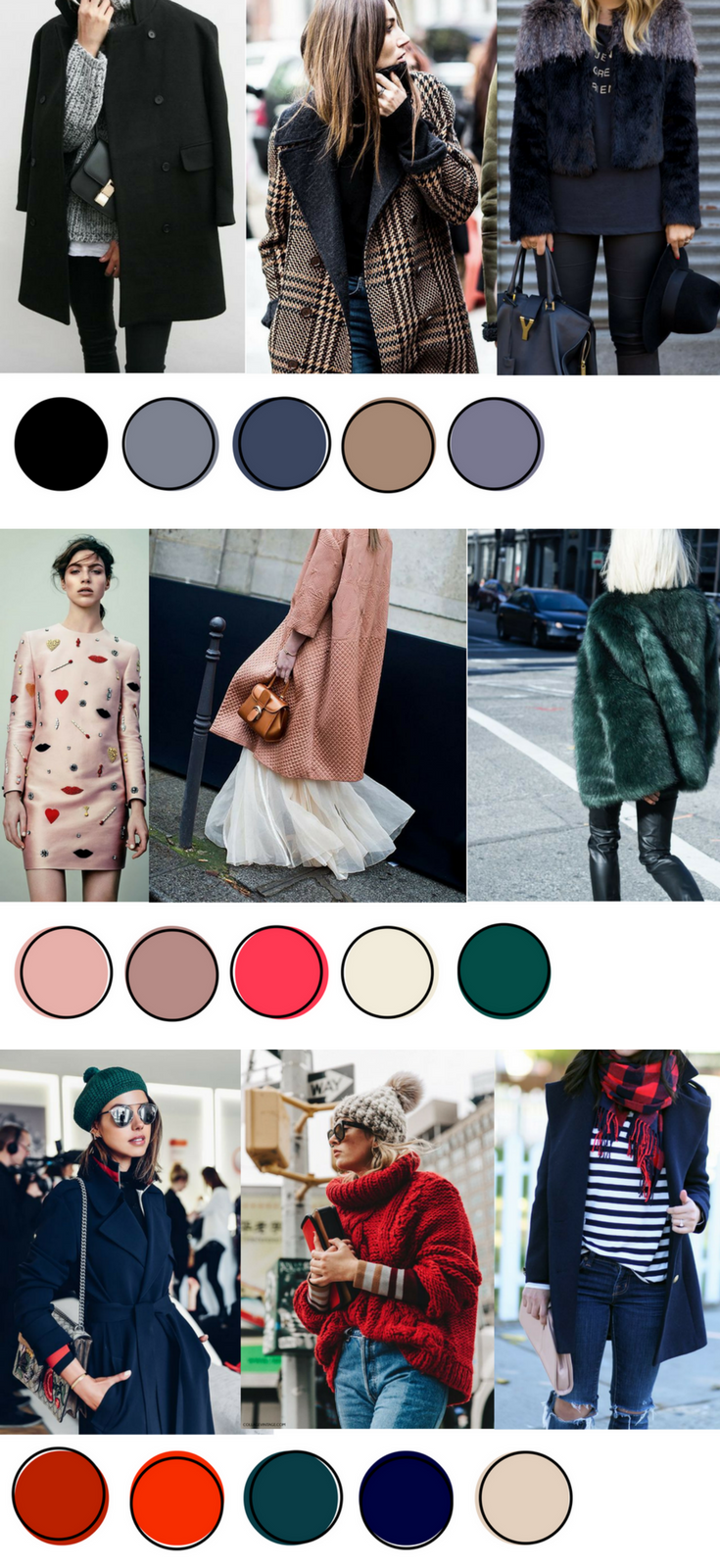 20162017 winter color chart winter colors colour chart and 20162017 winter color chart nvjuhfo Choice Image