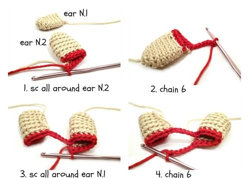 Trick to Make Amigurumi Ears