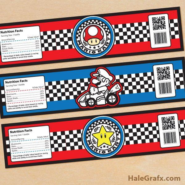 FREE Printable Mario Kart Birthday Invitation Set – Mario Kart Party Invitations