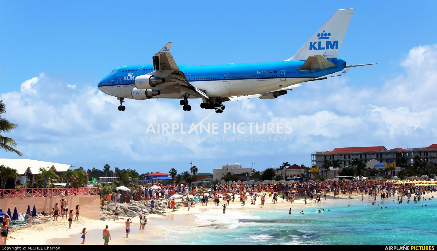 KLM PH-BFN aircraft at Sint Maarten - Princess Juliana Int photo