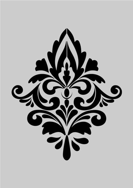 materiali di alta qualità vendita economica a basso costo damask stencil - Bing Images | trasferimento d'immagine ...