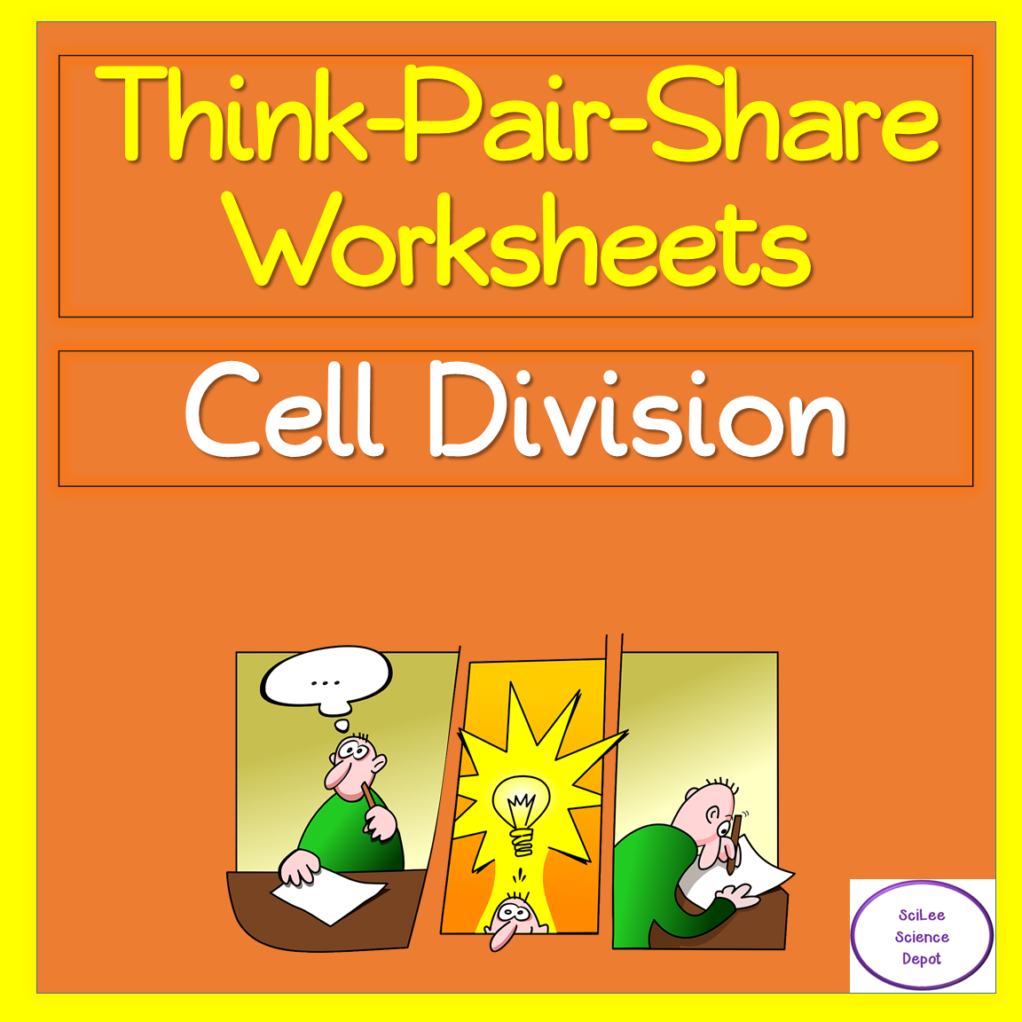 Cell Division Think Pair Share Worksheets In