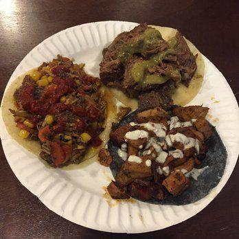 Revolutionario North African Tacos Exposition Park Los Angeles Ca Smoked Lamb Lamb Taco Beef Brisket