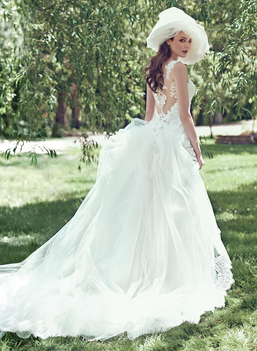 MAGGIE BRIDAL BY MAGGIE SOTTERO JOVI-DT6MW240: detachable train ...