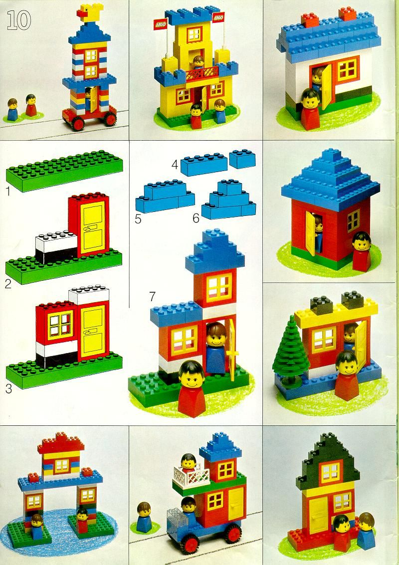 Lego Instructions Building Ideas Book 226 Books Lego Project