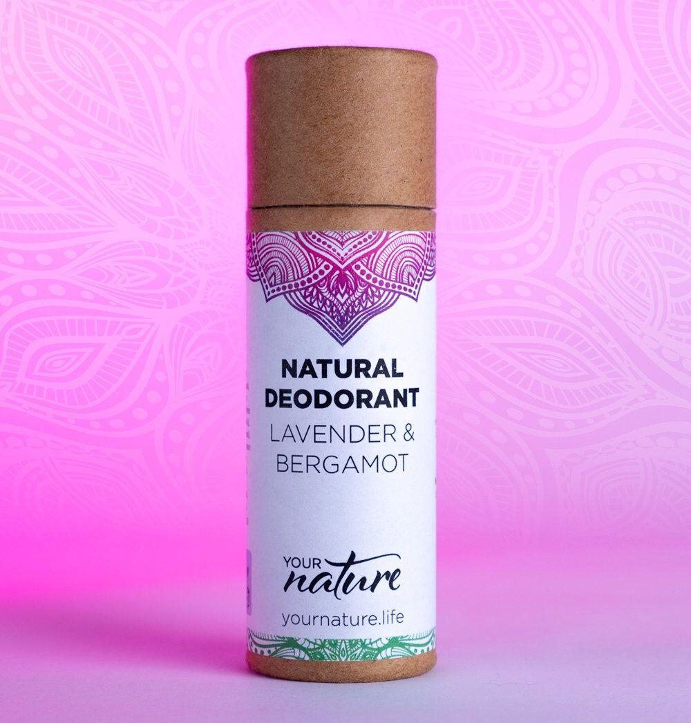 Natural Deodorant Lavender & Bergamot Plastic Free