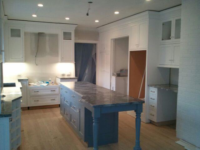 Kitchen During Construction Kitchen Renovation Countertops Water Damage Repair